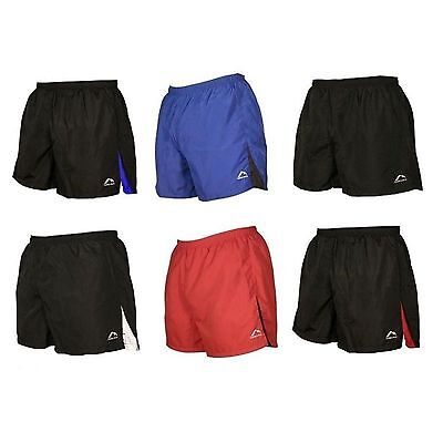 More Mile Mens Sports Shorts Running Gym Fitness Football Exercise