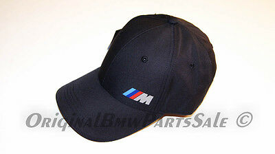 Genuine BMW MOTORSPORT M POWER BASEBALL CAP HAT OEM New 2016' Collection