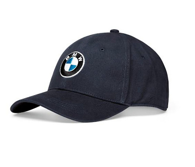 Genuine BMW STEEL BLUE Cap Hat Logo logo in colour New Collection 80162411102