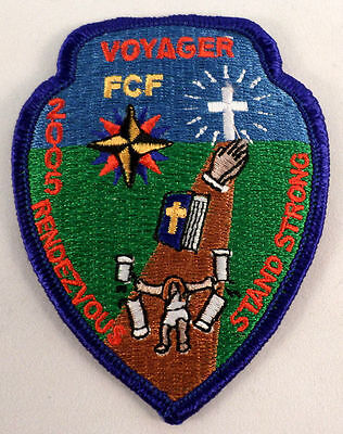 Fcf 2005 Voyager Stand Strong Rendezvous Rr Royal Ranger Uniform Patch