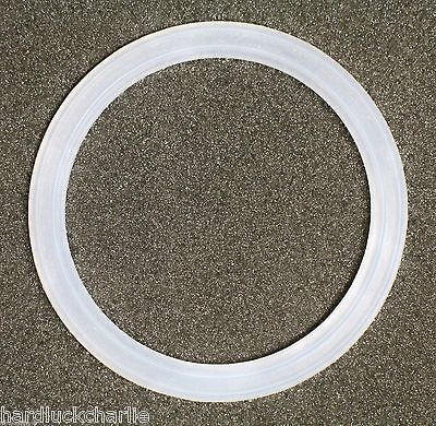 "Flat Silicone Rubber O-Ring Seal Gasket Jet Fixture Drain Pool Spa 2.5""~3-1/8"