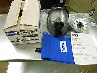 NORTH BY HONEYWELL 54001 5400 Full Face Respirator Kit, M/L with Filter NEW