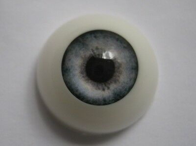 Reborn doll eyes 22mm Half Round  WINTER BLUE