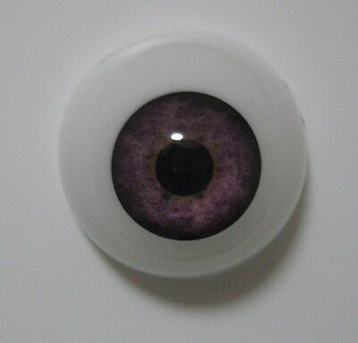 Reborn doll eyes 20mm Half Round LIGHT VIOLET