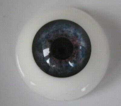Reborn doll eyes 22mm Half Round  BLUE MIST