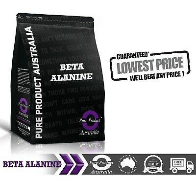 1kg PHARMACEUTICAL GRADE PURE BETA ALANINE Powder Pre Workout AMINO ACID