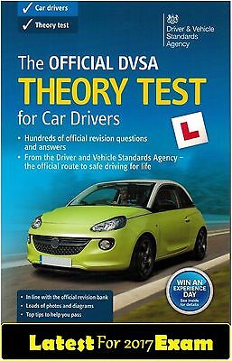 2016 / 2017 Official DVSA Theory Test for Car Drivers Book UK Latest 'CarThryBok