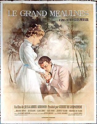 1967 THE WANDERER Le Grand Meaulnes Brigitte Fossey French 47x63 film poster