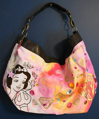 NWT Disney Couture SNOW WHITE Loop Hobo Handbag Tote