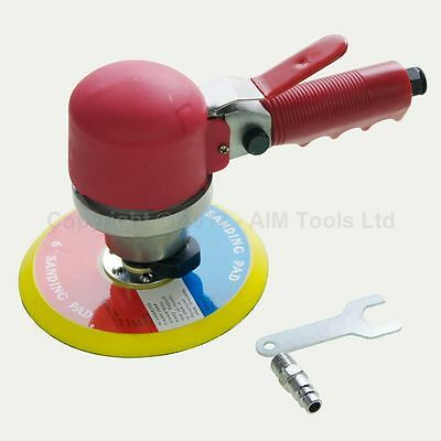 "212528 150mm 6"" Orbital Random Palm Dual Action Car Polishing Air Sander"