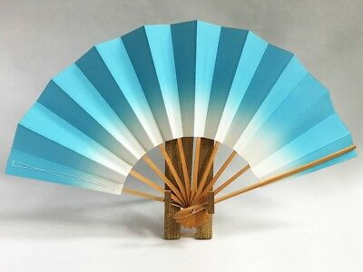 Vintage Japanese Geisha Odori 'Maiogi' Folding Dance Fan from Kyoto: Design XP