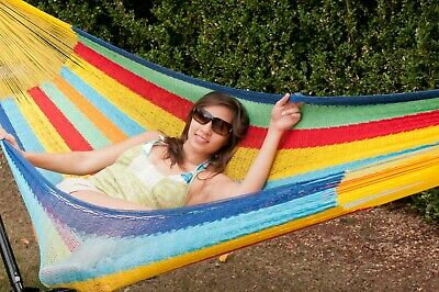 New Cotton Single Mexican Hammocks | Unique Breezy Point® Mayan Hammock Outdoors