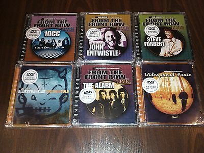 DVD AUDIO LOT  5.1 SURROUND DVD-A * DVD AUDIO AUDIOPHILE 6 disc lot brand new