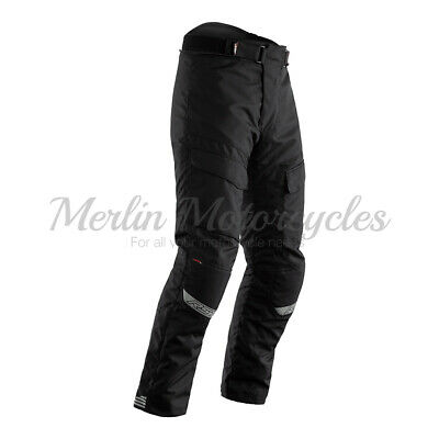 RST Alpha 4 Motorbike Motorcycle Waterproof Touring Textile Jeans - Black