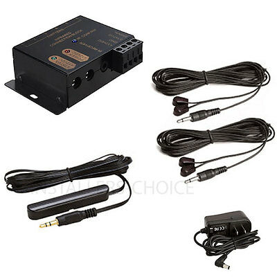 Hidden IR Infrared Remote Control System Kit Repeater Extender Emitter Receiver