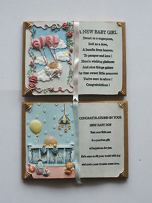 New Baby Boy / Girl Collectable Verse By Shudehill - Choice - New /unboxed