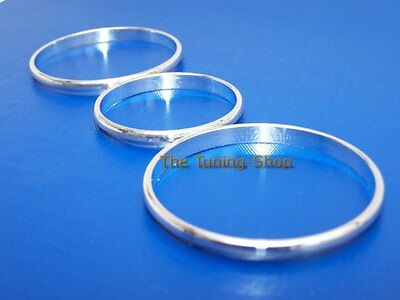 For Vw Polo Mk5 6R 2009-2013 Chrome Heater Rings Alloy Surrounds Manual A/c New