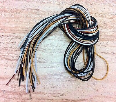 """(1 Pair, 2 Laces) 72"""" Rawhide Leather Shoe Boot Laces Shoelaces Timberland"""