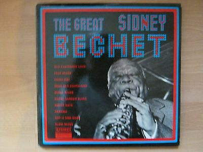 The Great Sidney Bechet - Sidney Bechet - Vinyl LP