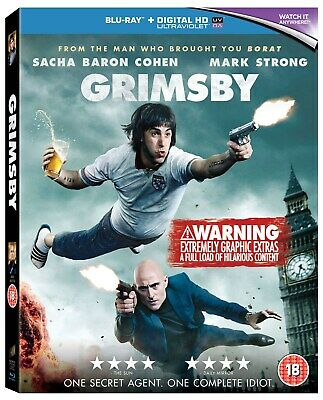 Grimsby (with UltraViolet Copy) [Blu-ray]