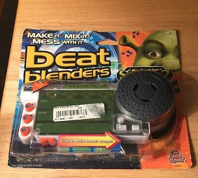 Shrek 2 Beat Blenders New In Box Package