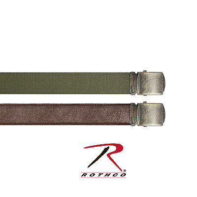 Rothco Reversible Vintage Leather/Poly Web Belt - 4307