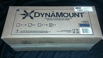 Dynamount V1 Robotic Microphone Mount. NIB. A Great Time-Saver!!