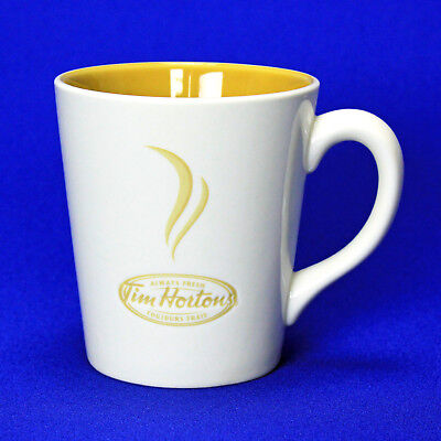 TIM HORTONS Coffee Mug 12 Oz Always Fresh Embossed Tea Cup Limited Edition 2006