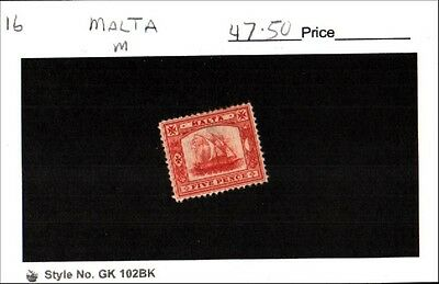 Malta Stamp Lot Scott 16 MNH Low Combined Shipping