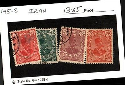 IIran Stamp Lot Scott 145-148 Used Low Combined Shipping