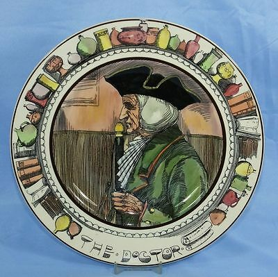Royal Doulton The Professionals Vintage Series Ware Plate The Doctor D 6281