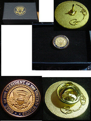 Presidential Barack Obama Lapel Pin - diecast
