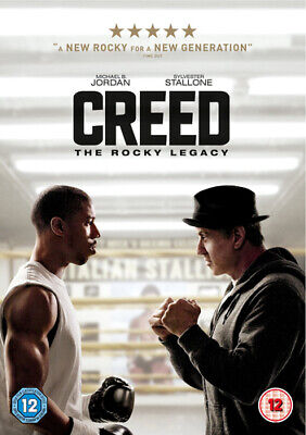 Creed DVD (2016) Sylvester Stallone, Coogler (DIR) cert 12 Fast and FREE P & P