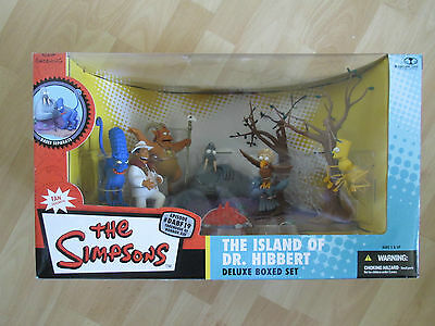 "The Simpsons; McFarlane Toys ""The Island Of Dr Hibbert"" Deluxe Box Set!"