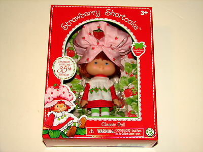 HTF Strawberry Shortcake 35th Birthday Classic Doll New Sealed MIB 2015