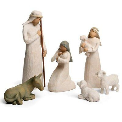 Willow Tree Nativity Set,Artist Susan Lordi hand carves the original (26005) CXX