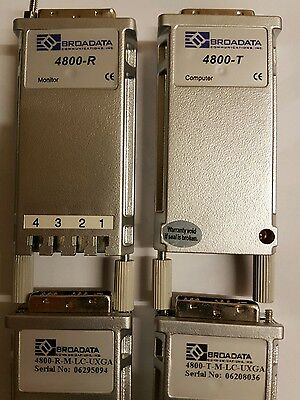 Broadata 4800 Transmitter & Receiver