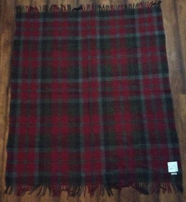 """RUG ALL WOOL BLANKET - WOVEN IN SCOTLAND 56.5""""x50"""""""