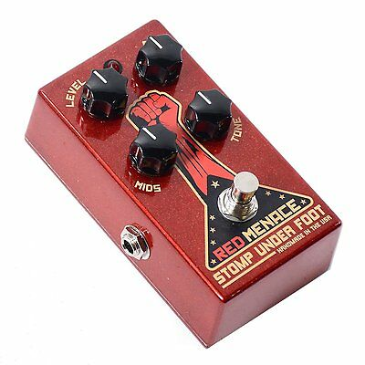 NEW Stomp Under Foot Red Menace Fuzz