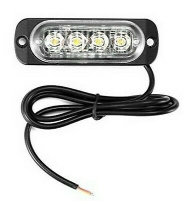 Faro Supplementare  Profondita Fuoristrada  Auto 12V 6 Led 18W 6000K Ip68
