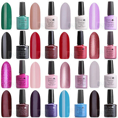 CND Shellac UV/LED Gel/Polish - MAIN COLLECTION -100% Genuine - IRISH SELLER