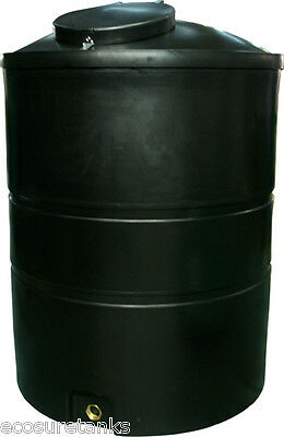 ECOSURE 1850 LITRE Water Tank Black
