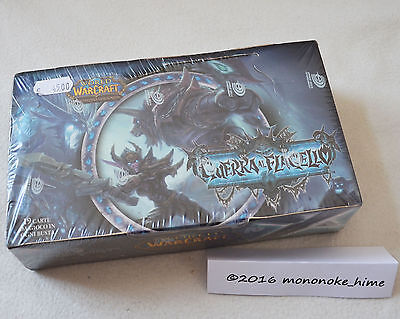 World of Warcraft TCG - Scourgewar Booster Box - Display - italian OVP