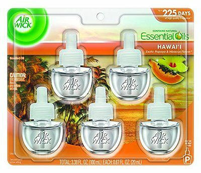 Air Wick Scented Oil Refill Plug in Air Freshener Essential Oils BRAND NEW (AOI)