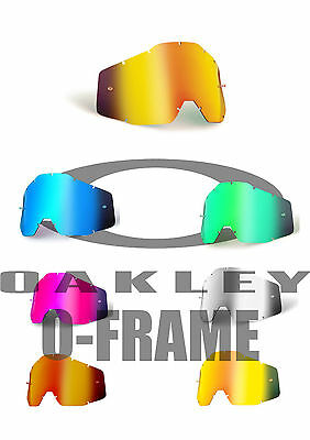 Goggle Shop MX lens for Oakley 2000 - Mirror: All Colours