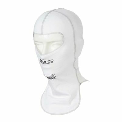 FIA SPARCO Shield RW-9 BALACLAVA WHITE extra flat seams One size UNDERWEAR HEAD