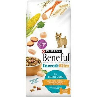 Purina Beneful Incredibites With Chicken Dry Dog Food 3.5 lb. Bag