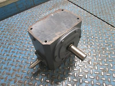 Boston Gear Reducer 732-15-G Ratio 15:1 3.59 HP IN 1688 IN-LB Torque Out Used