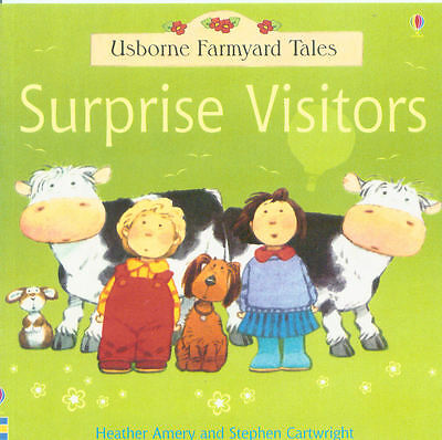 Young Children's Picture Story Book: Usborne Farmyard Tales: Surprise Visitors