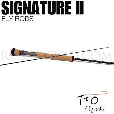 "NEW - TFO Signature II 10wt 9'0"" Fly Rod 2pc - FREE SHIPPING IN US"